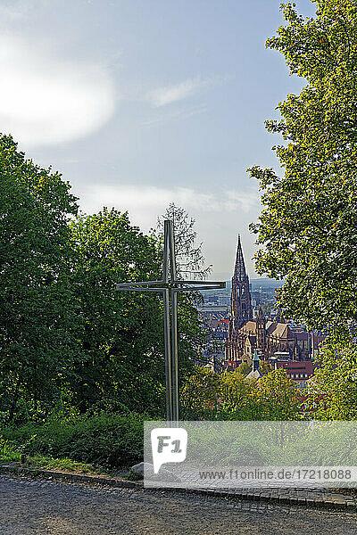 Freiburger Münster  Freiburg  Kreuz