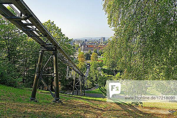 Schlossberg  Schlossbergbahn  Panorama