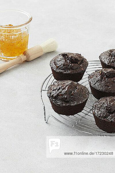 Schokoladen-Orangen-Muffins