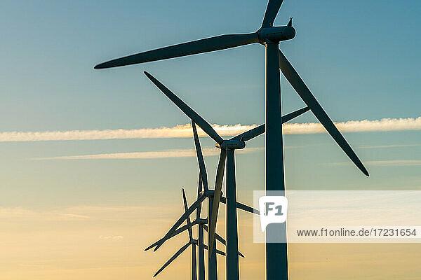 Windenergieanlagen im Windpark