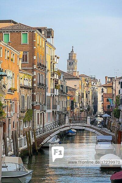 Canal  Venice  Veneto  Italy  Europe