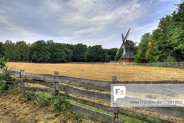 Windmühle im Freilandmuseum Kommern in Nordrhein-Westfalen  NRW  Deutschland  Europa .