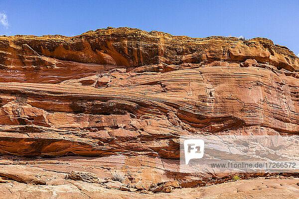 USA  Utah  Escalante  Rote Sandsteinformationen im Grand Staircase-Escalante National Monument