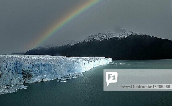 Patagonien  Argentinischer See  Anden  Perito-Moreno-Gletscher im Nationalpark Patagonia Glaciares