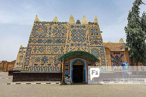 Emir's palace  Bauchi  eastern Nigeria  West Africa  Africa