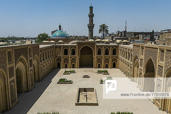 Al Mustansirya School  the oldest university in the world  Baghdad  Iraq  Middle East
