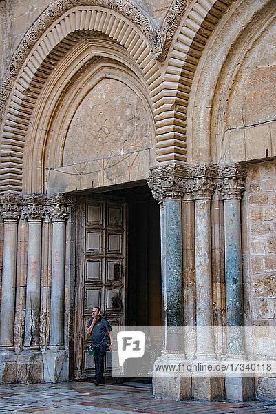 Asien  Naher Osten  Israel  Jerusalem  Grabeskirche