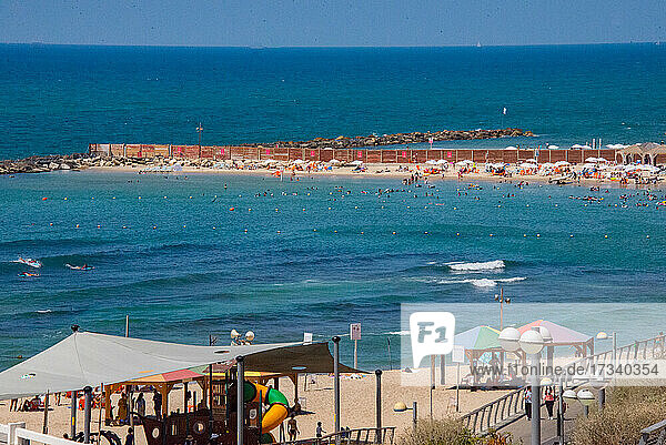 Asien_Naher Osten_Israel_Tel Aviv_Hilton Beach