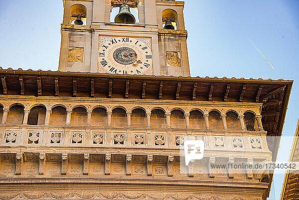 Europa  Italien  Toskana  Arezzo  Palast der Laienbruderschaft