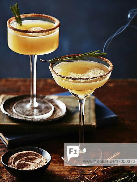 Gewürzter Apfel-Martini