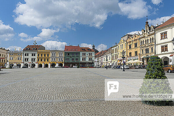 Gardens and Castle at Kromeriz  UNESCO World Heritage Site  Zlin Region  Czech Republic  Europe