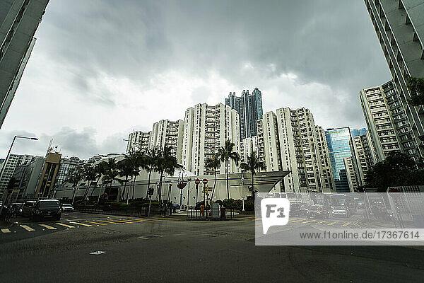 Blick auf das Whampoa  Hongkong Blick auf das Whampoa, Hongkong