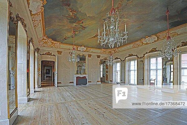 Hall of Mirrors  Rheinsberg Castle  Brandenburg  Germany  Europe