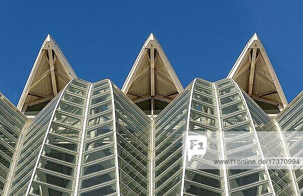Museu de les Ciències  Wissenschaftsmuseum Prinz Philip  Stadt der Künste und Wissenschaften  Valencia  Spanien  Europa Museu de les Ciències, Wissenschaftsmuseum Prinz Philip, Stadt der Künste und Wissenschaften, Valencia, Spanien, Europa