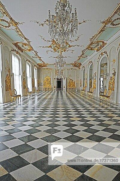 Ovid Gallery  Mirror Gallery  New Chambers  Sanssouci Palace  Potsdam  Brandenburg  Germany  Europe