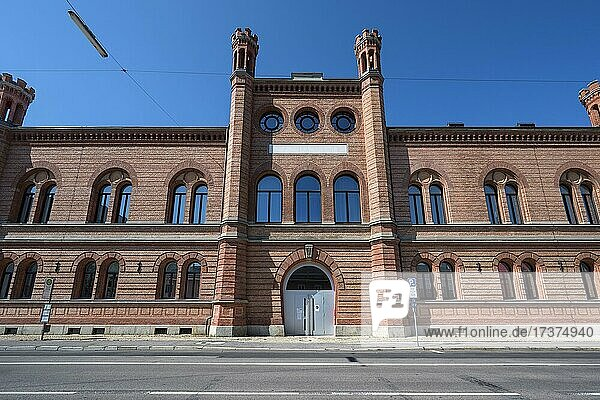 Zeughaus (1861-1865) formerly Bavarian Army Museum  since 2019 seat of the Faculty of Design  Lothstraße 17  Munich  Upper Bavaria  Bavaria  Germany  Europe