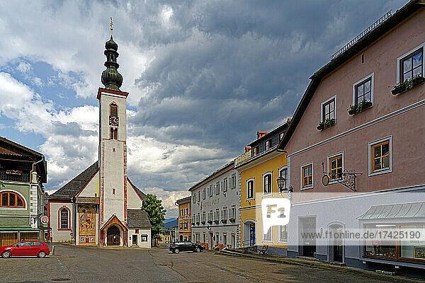 Pfarrkirche Mauterndorf  Waldgemälde