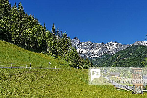 Landschaft  Dachsteinmassiv