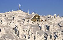 Berghütte, Bayern, Deutschland