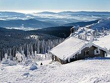 Berg,bedecken,sehen,Landschaft,groß,großes,großer,große,großen,Käsetuch,Bayern,Deutschland,Schnee,Nationalpark Bayerischer Wald