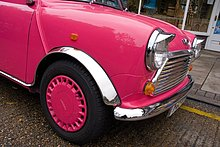 Seitenprofil des Autos