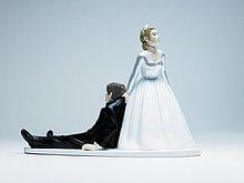 Braut und Bräutigam statue