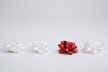Portrait,weiß,Hintergrund,rot,Unterricht,1,3,Studioaufnahme,binden,Weihnachtsgeschenk