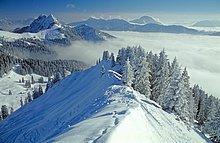Bayern - Landschaft - Schnee