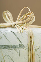 Geschenk verpackt, Detail