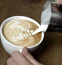 Cappuccino-Ornament machen