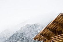 französisch,Chalet,Alpen