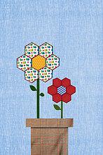 Blumen in Blumentopf