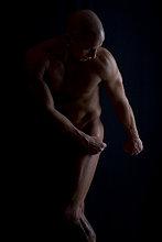 Mann, Körper, nackt