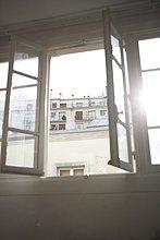 passen,Sonnenstrahl,Fenster,offen