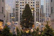 Vereinigte Staaten von Amerika, USA ,Einkaufszentrum ,New York City ,Baum ,Weihnachten ,Nordamerika