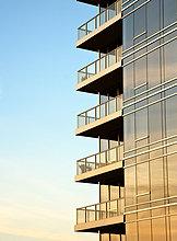 Hochhaus ,Balkon