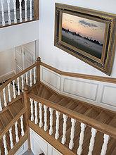 Wohnhaus,Treppenhaus,gehobene Preisklasse