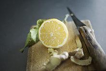 Zitrusfrucht ,Zitrone ,Ingwer
