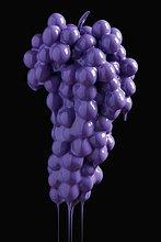 Farbaufnahme, Farbe ,heraustropfen, tropfen, undicht ,Weintraube