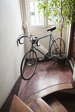 Korridor, Korridore, Flur, Flure ,parken ,Fahrrad, Rad