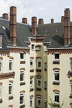 Gebäude,Nachbarschaft,Fundament,Gründung,Hamburg - Deutschland,Deutschland