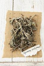 Getrocknete Artischocke (Cynara scolymus)