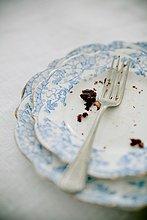 Detail, Details, Ausschnitt, Ausschnitte ,Kuchen ,Schokolade ,Gabel ,Brotkrumen