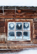 Liebesherz, Liebesherzen, herz, Herzen, herzförmig, herzförmiges ,Fenster ,Kabine ,Österreich