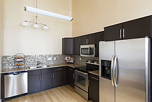 Küche,Kühlschrank,Tresen,modern