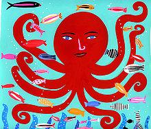 Fisch,Pisces,Fröhlichkeit,Ozean,Tintenfisch