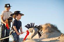 Bruder,Kleidung,Sand,Hobby,2,Cowboy,Düne