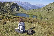 Entspannung,wandern,Gras