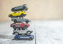 Haufen,Auto,Spielzeug,alt