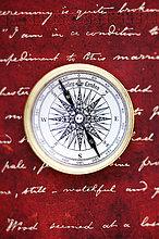 Kompass,Handschrift